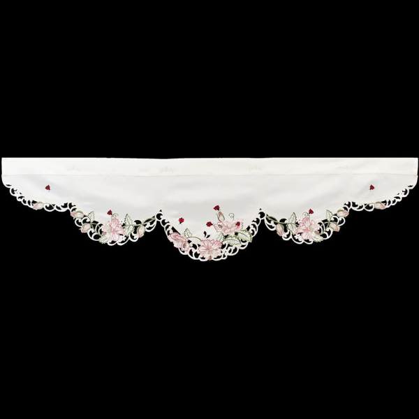 lady bug valance